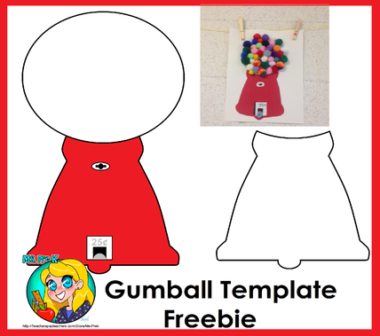 Unusual image with regard to gumball machine printable